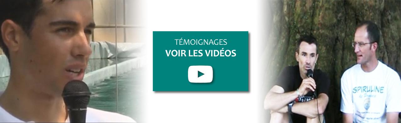 Vidéos témoignages de nos consommateurs de Spiruline de Provence