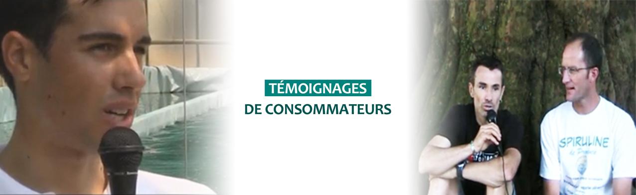 Témoignages consommateurs Spiruline de Provence